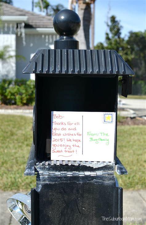 easy idea  mailman gifts thesuburbanmom