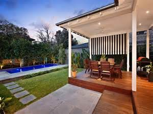 Best Outdoor Entertaining Areas - outdoor living design with bbq area from a real australian home outdoor living photo 334214