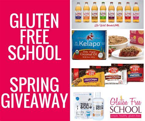 Gluten Free Giveaway - gluten free giveaways