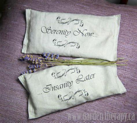 Diy Eye Pillow by Serenity Now Diy Lavender Eye Pillows Garden Therapy