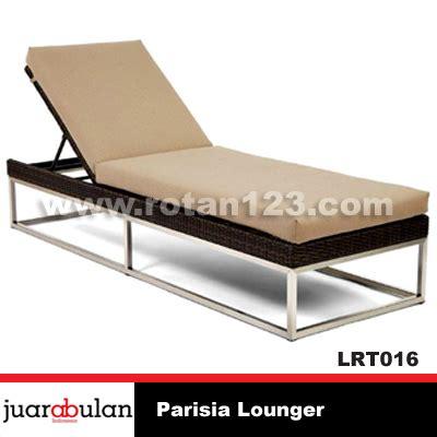Bahan Antsistatic harga jual parisia lounger rotan sintetis model gambar