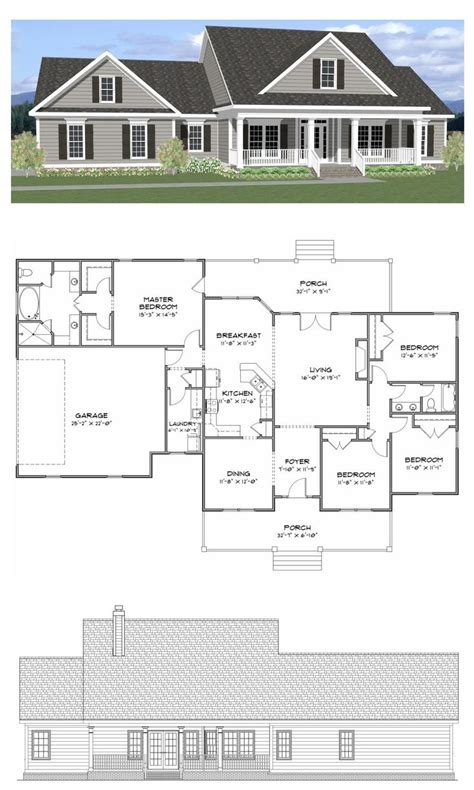 Open Floor Plan Farmhouse by Farmhouse Open Floor Plans Kitchen Layout House California