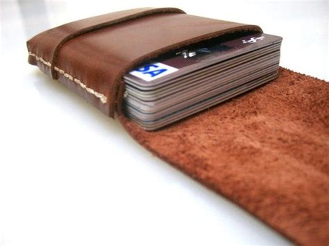 Gift Card Wallet - leather wallet mens wallet personalized wallet mens gift slim wallet leather