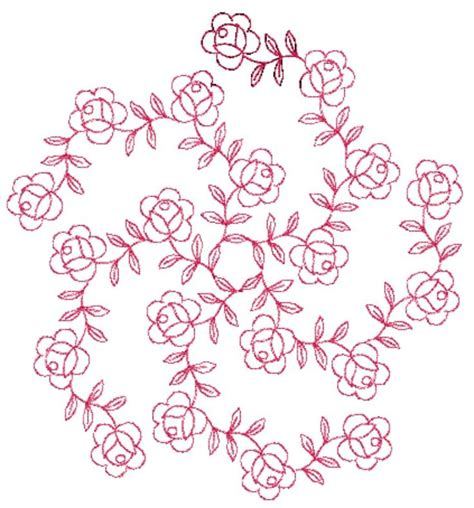 design patterns in embroidery free redwork patterns to download free designs