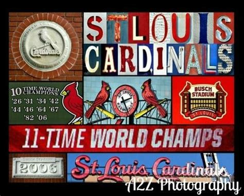 st louis cardinals home decor st louis cardinals baseball collage 8x10 fine art wall art