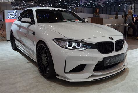 2017 Bmw M2 by 2017 Geneva Bmw M2 With 420 Hp Tuning From Hamann Motorsport