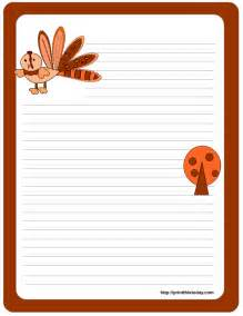 thanksgiving paper template free printable thanksgiving stationery