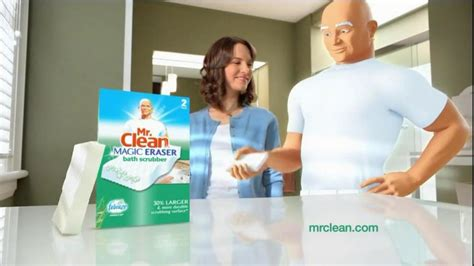 mr clean bathroom products mr clean magic eraser bath scrubber tv commercial clean up the universe ispot tv
