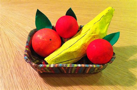 How To Make Fruit Out Of Paper - 10 things to make with egg boxes goodtoknow