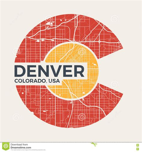Graphic Design Certificate Denver | denver st rubber grunge cartoon vector cartoondealer
