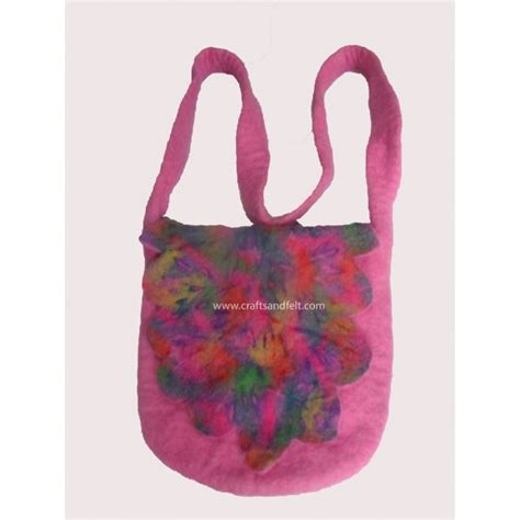 Handmade Felt Bags - felt bag wholesale from nepal handmade felt handbag in