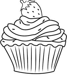 cupcake coloring pages printable cupcake coloring pages coloring me