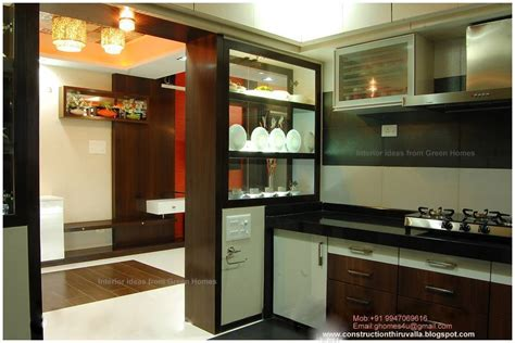 modern kitchen interiors green homes modern kitchen interior design