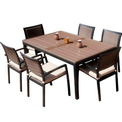 Patio Sets Clearance Rst Outdoor Op Alts7 Zen Dining Set 7 Patio Dining Sets Clearance