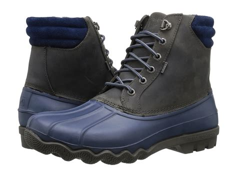 zappos duck boots sperry top sider avenue duck boot