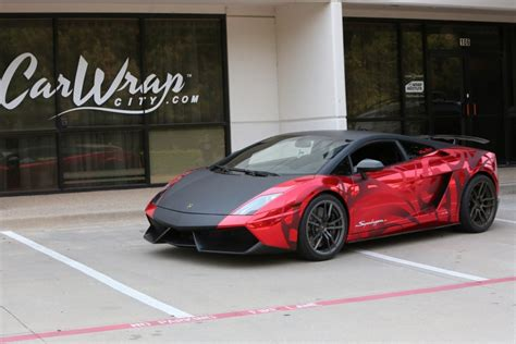 wrapped lamborghini wrap like a king lamborghini gallardo superleggera chrome