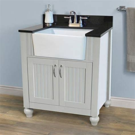 bathroom vanity with farmhouse sink bathroom vanity happiness redbird
