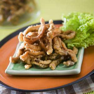 proses membuat jamur crispy cara membuat usus ayam goreng renyah dan gurih resep