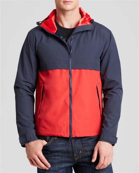 New Jaket Sweater Polos Hoodie Zipper Orange Oren gant rugger hooded jacket in blue for lyst