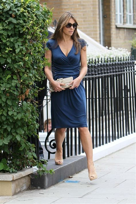 Liz Hurley In Brittish In Style by Elizabeth Hurley And Shane Warne Go Out Pictures Zimbio