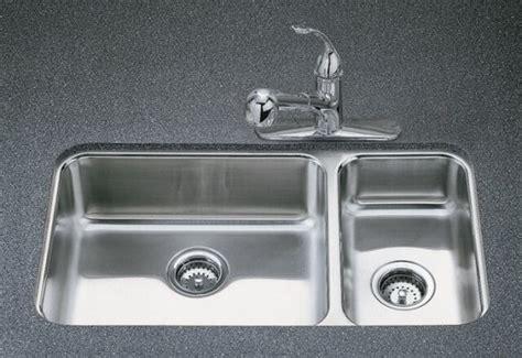 Kohler Undertone Kitchen Sink by Kohler K 3352 Na Undertone High Low Undercounter Kitchen