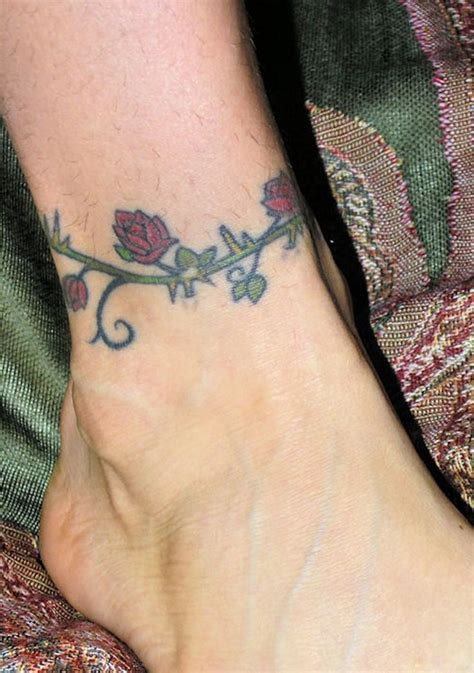 rose vine ankle tattoos best 25 vine tattoos ideas on vines