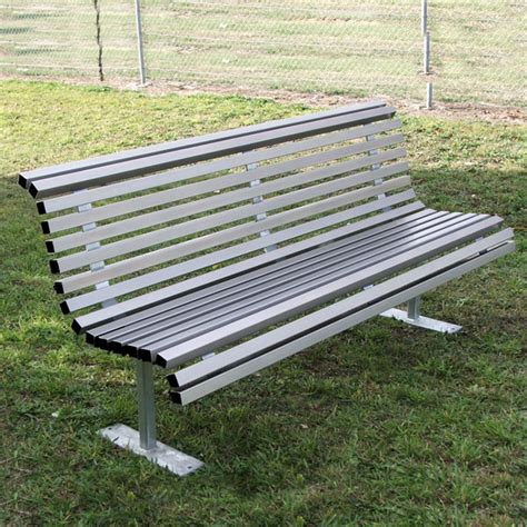 park bench seat outdoor furniture for schools councils commercial spaces draffin