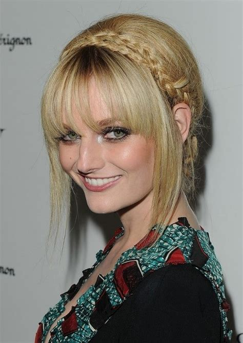 chinbhairs and biob hair 10 braided updo hairstyles for 2014 delicate braided