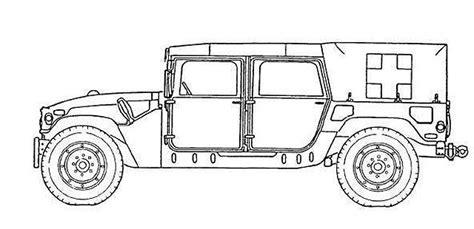 humvee drawing m1035a2 humvee hmmwv ambulance vehicle technical data