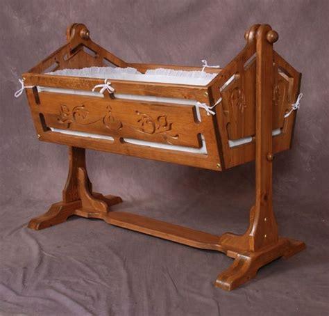 Handmade Baby Cradle - wooden baby cradle plans wooden rocking