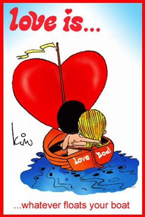 love boat cartoon love is whatever floats your boat love is kim