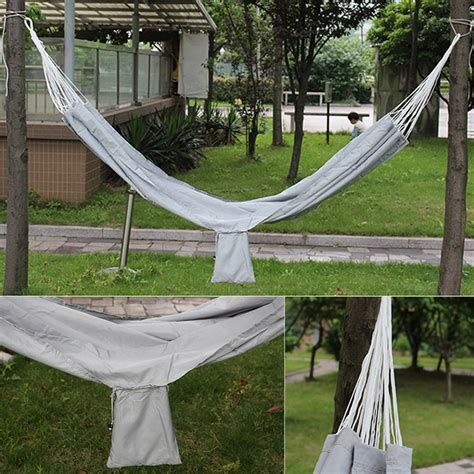 hanging hammock bed new travel cing outdoor hammock parachute bed portable