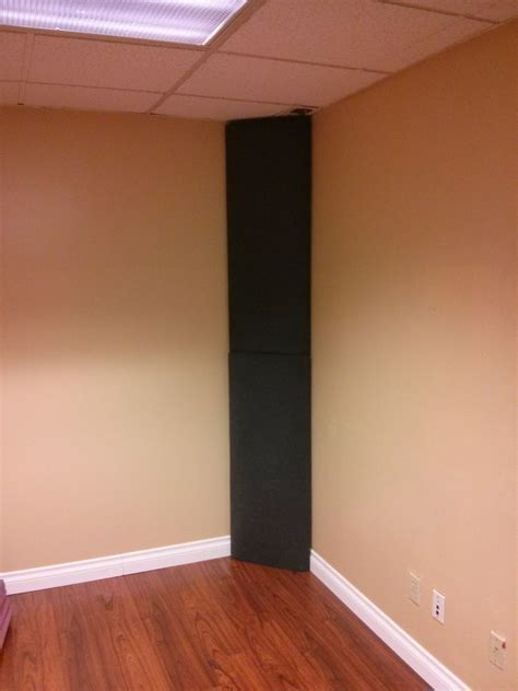 Diy Room Acoustics by Diy Corner Bass Trap Home Theater More