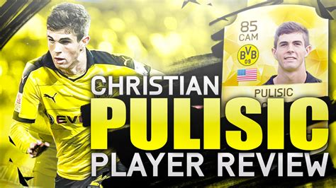 christian pulisic in fifa 17 christian pulisic career mode player review growth test