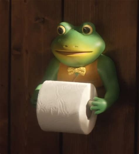 Toilet Paper Roll Holder This Frog Has Seen Some Funny