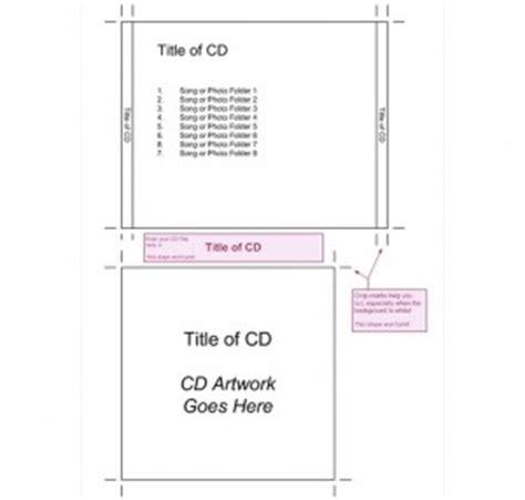 jewel case insert template cd jewel case insert template
