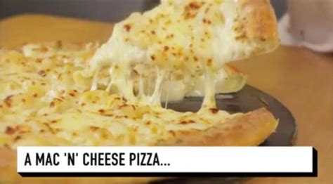 Mac N Cheese Pizza Hut pizza hut just revealed their new mac n cheese pizza