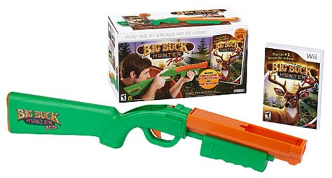 buck hunters big buck pro with gun wii gamesplus