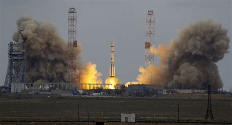 Russian Proton by Russian Proton M With Us Intelsat Satellite Launched From