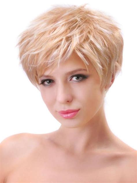 short hair fat oblong face cute short haircuts for thick hair short hairstyles 2015