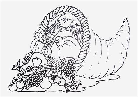 free printable coloring sheets for thanksgiving kids