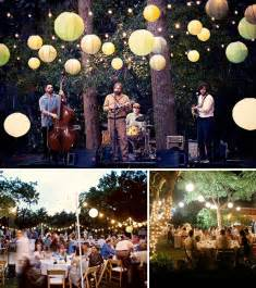 Backyard Wedding Reception How To Throw A Backyard Wedding Decor Green Wedding