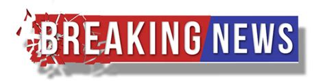 breaking news logo picture template banner licenciement en masse