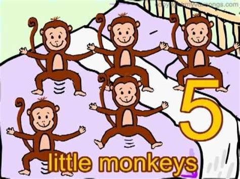 youtube monkeys jumping on the bed 97 best images about youtube for kids on pinterest the alphabet baby sign language