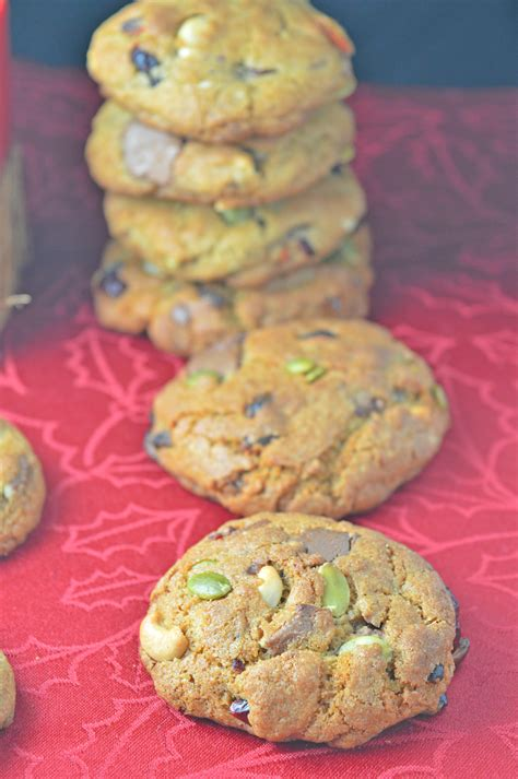 Chunky Fruit Nuts chunky nuts seeds fruit chocolate chip cookies tasty