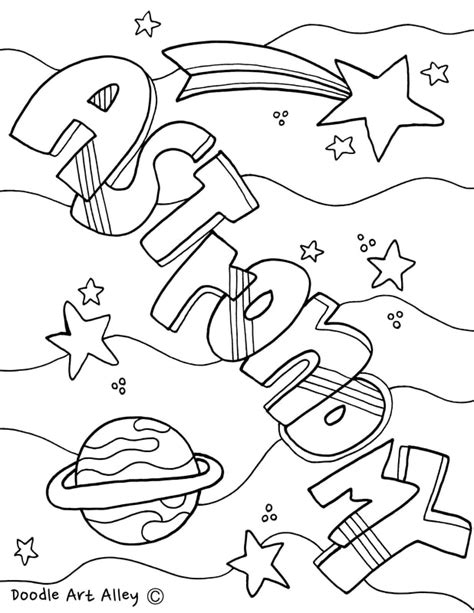 astronomy coloring pages coloring pages ideas