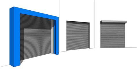 garage door panel height