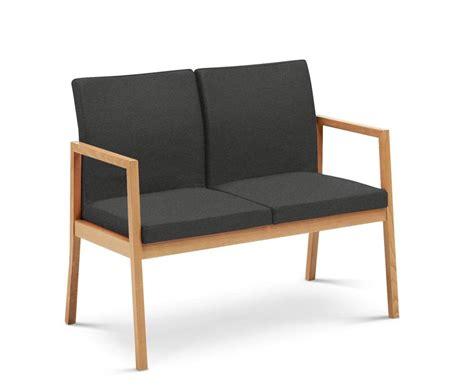 divanetti attesa divano a 2 posti in legno massello per sala di attesa
