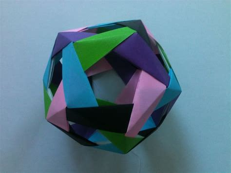 how to make an origami dodecahedron dodecahedron modular origami