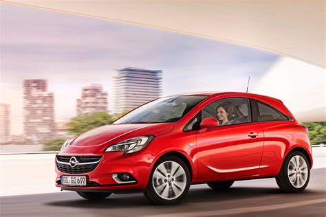 opel corsa new opel vauxhall corsa revealed with adam inspired